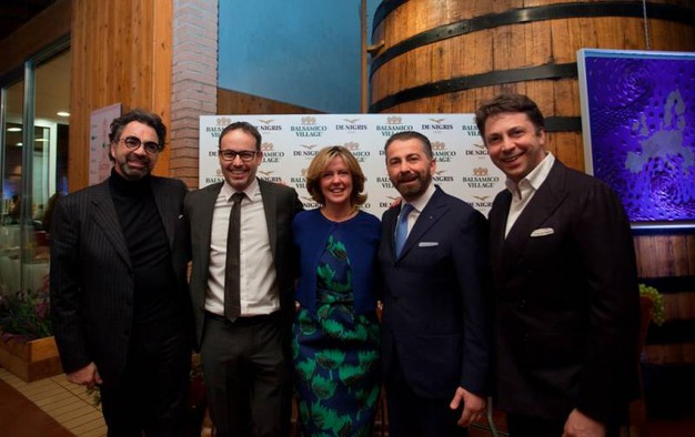 Armando De Nigris, Alberto Bellelli, Beatrice Lorenzin, Raffaele e LUca De Nigris (Cabri)