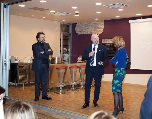 Armando De Nigris, Stefano Bonaccini e Beatrice Lorenzin (foto Cabri)