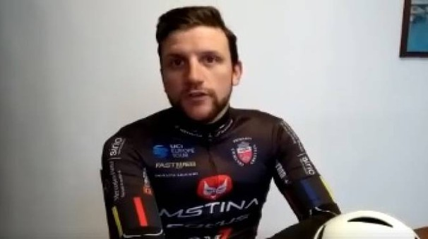 De Negri in un filmato sulla pagina Facebook del team