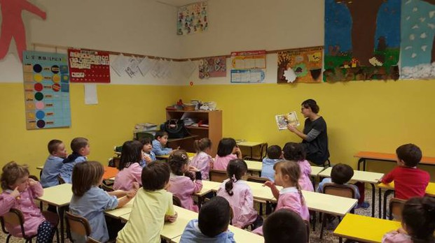 L'assessore Tania Salvi nelle scuole dell'Infanzia