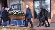 Il funerale di Kevin Chirra, morto insieme a un altro ragazzo in un  incidente sul ponte dello Scolmatore, tra Stagno e Camp Darby (Novi)