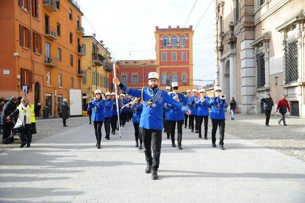 La banda musicale per il Carnevale (foto Fiocchi)