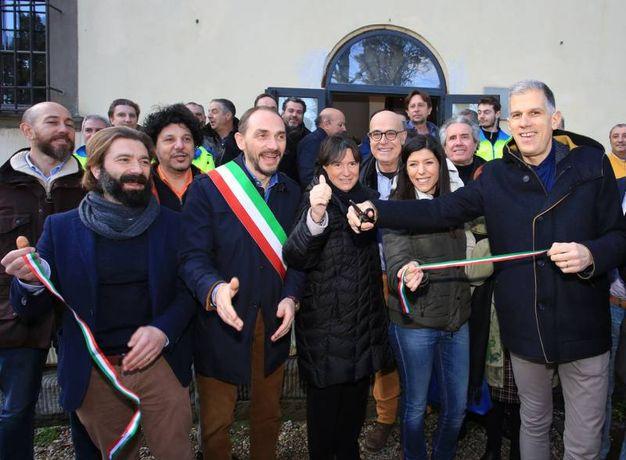 L'inaugurazione del condominio solidale (Fotocronache Germogli)