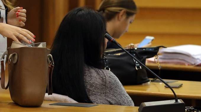 Durante il processo parla il testimone (foto Petrangeli)