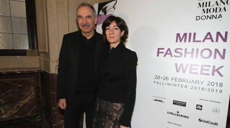 Carlo Capasa e Cristina Tajani (Newpress)