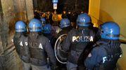 La polizia (Foto Calavita)