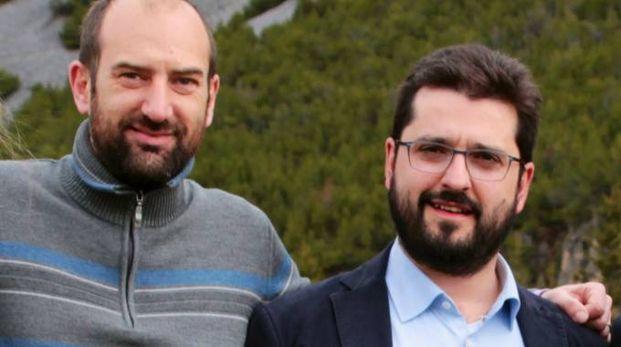 Balatti (a sinistra) e Trabucchi