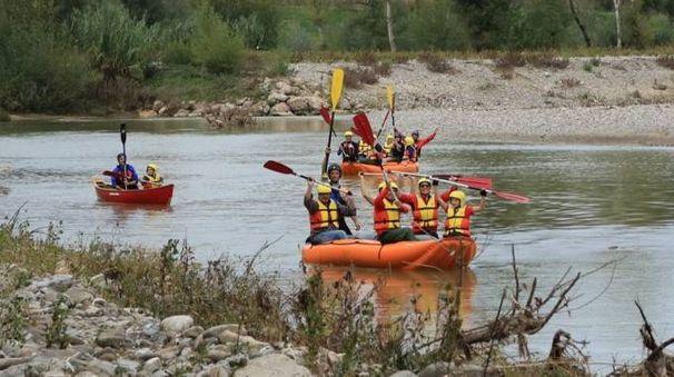Soft rafting a Paganico