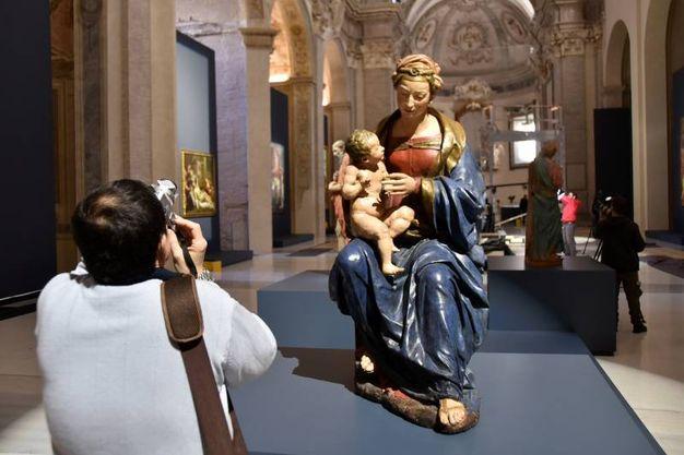Una delle opere in esposizione, sono 120 in tutto (foto Fantini)