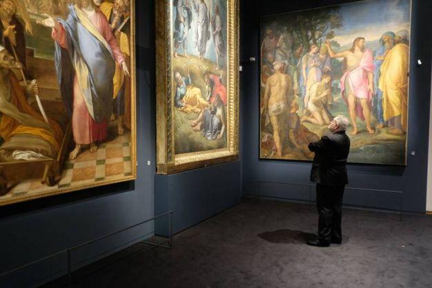 Il vernissage della mostra al San Domenico (foto Frasca)