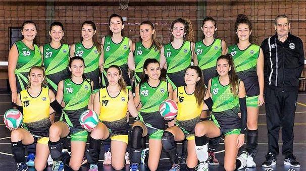 La squadra under 18 del Volley Aglianese