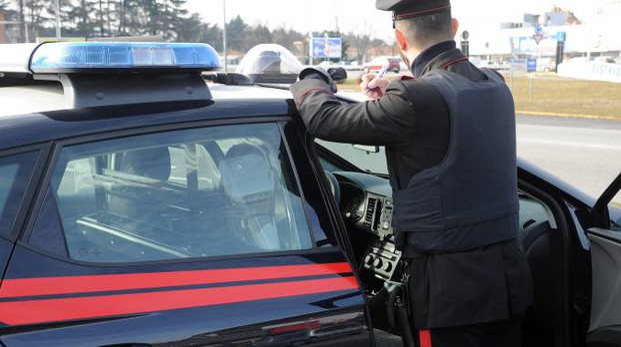 Operazione dei carabinieri (archivio)