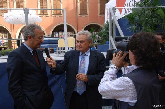 Armenia intervista Veltroni (Foto Fiocchi)