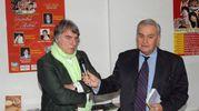 Roberto Armenia con Paolo Crepet (Foto Fiocchi)