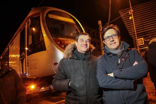 Il sindaco Nardella e l'assessore Giorgetti (Giuseppe Cabras/New  Pressphoto)