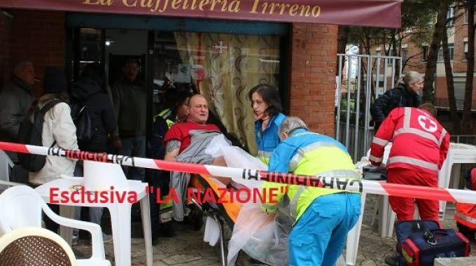 Spari al Cep di Pisa, uno dei feriti (Valtriani)