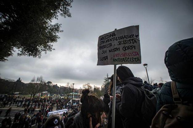 Circa cinquemila manifestanti (Foto Imagoeconomica)