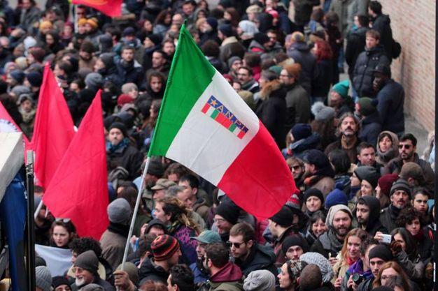 Migliaia di persone arrivate da tutta Italia (foto LaPresse)
