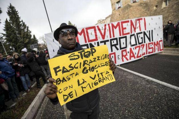 Movimenti contro ogni razzismo (foto Ansa)