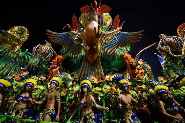 San Paolo, la scuola di samba Tom Maior (Lapresse)