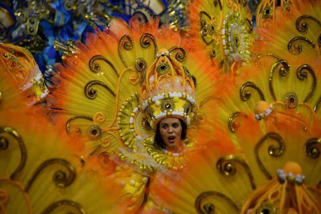 La scuola di samba Unidos do Peruche (Lapresse)