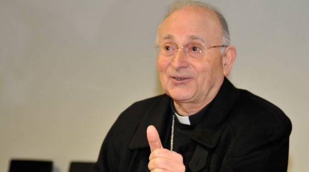 L'arcivescovo Italo Castellani (foto Alcide)