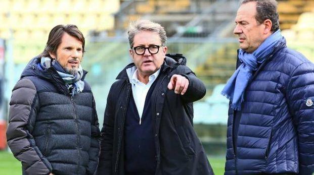 Da sinistra Gian Lauro Morselli e Paolo Galassini