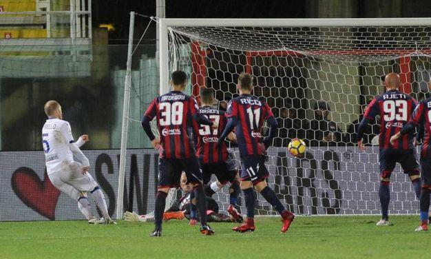 Crotone-Atalanta 1-1, Palomino (Ansa)