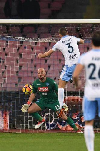 Napoli-Lazio 0-1, de Vrij (Ansa)