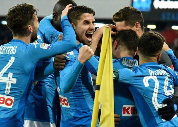 Napoli-Lazio 3-1, Rui (Afp)
