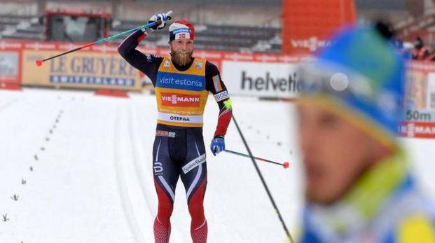 Kruger vince nella 30 Km di skiathlon. Sundby secondo