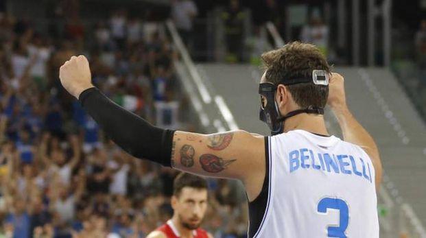 Belinelli, impegnato con la Nazionale