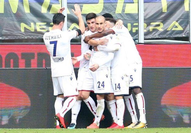 Inter-Bologna 1-1, Palacio (Ansa)