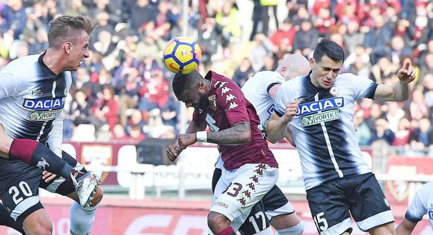 Torino-Udinese 1-0, N'Koulou (Ansa)