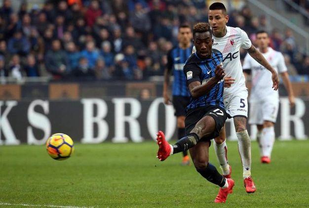 Inter-Bologna 2-1, Karamoh (Ansa)