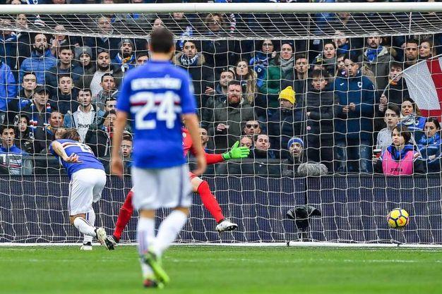 Sampdoria-Verona 1-0, Barreto (Ansa)