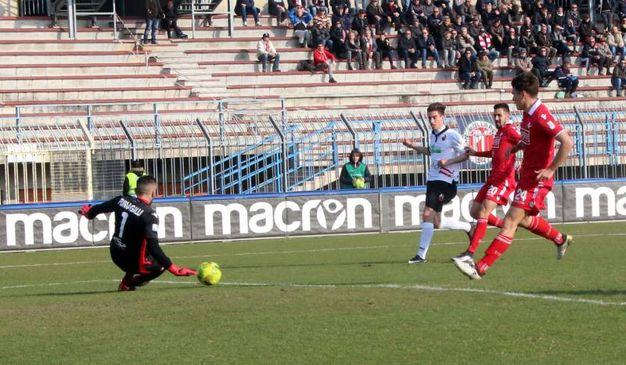 Piacenza-Lucchese (Foto Rastelli)