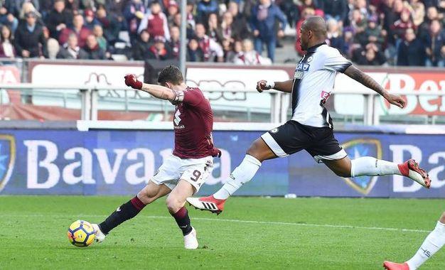 Torino-Udinese 2-0, Belotti (Ansa)