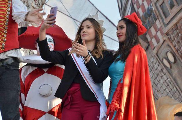 Miss Italia al Carnevale (Foto Umicini)