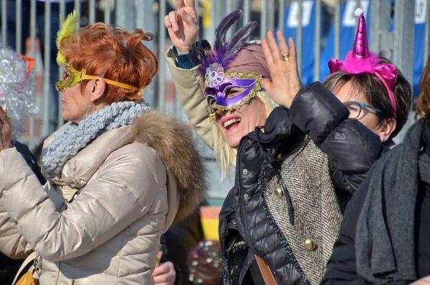 Le maschere (Foto Umicini)
