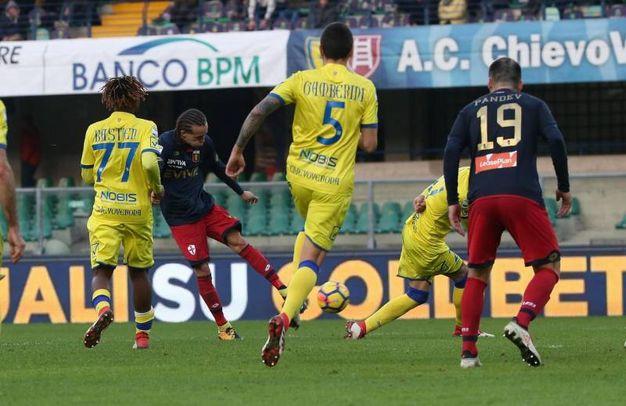 Chievo-Genoa 0-1, Laxalt (Ansa)