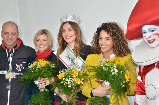 Miss Italia al Carnevale di Viareggio (Foto Umicini)