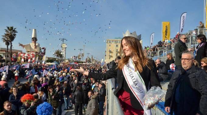 Miss Italia Rachele Arlanch (Foto Umicini)
