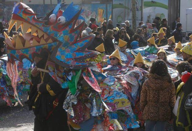 Il Carnevale dei ragazzi, organizzato dall'Arcidiocesi di Ravenna-Cervia (foto Corelli)