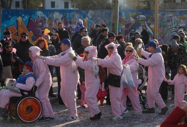 I bambini, veri protagonisti del Carnevale (foto Corelli)