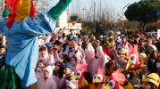 Il temadel Carnevale è 'Quarant'anni di carnevale tra nostalgia e fantasia' (foto Corelli)