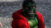 Le maschere del Carnevale dei ragazzi a Marina di Ravenna (foto Corelli)