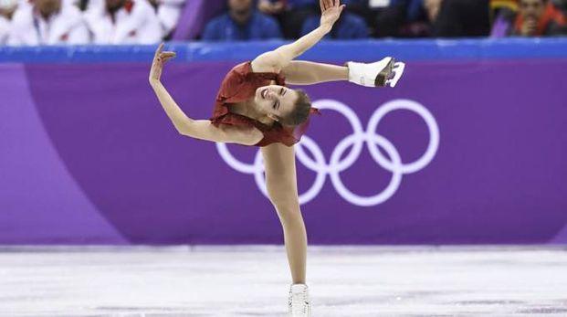 Olimpiadi invernali 2018, Carolina Kostner nel Team Event (LaPresse)
