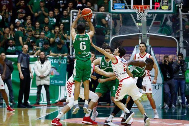 Un momento del match (Foto Ciamillo)