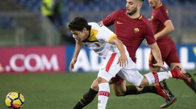 Roma-Benevento 0-1, Guilherme (Ansa)